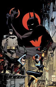 """da-watchtower: """" Batman Beyond Universe Vol.1 #1 (Cover art by Sean Murphy) """""""