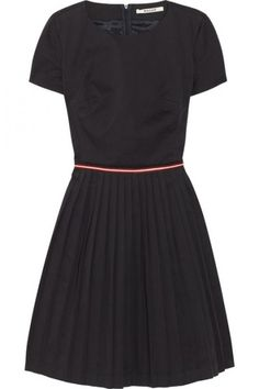Bally pleated cotton blend dress &795