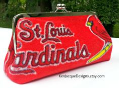 Hey, I found this really awesome Etsy listing at https://www.etsy.com/listing/153141896/st-louis-cardinals-red-fleece-frame