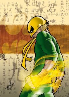 Iron Fist and Luke Cage are always fun to draw. Description from deviantart.com. I searched for this on bing.com/images