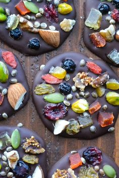 Heart Healthy Dark Chocolate Detox Bites --- embrace dessert!