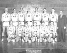 Grand Rapids Junior College's men's basketball team won the state championship in 1962.