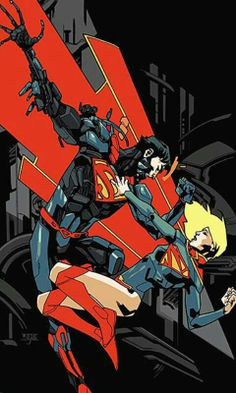 Supergirl Vol. Supergirl is a female counterpart to the DC Comics Superman. As his cousin, she shares his super powers and vulnerability to Kryptonite. Dc Comics, Anime Comics, Cosmic Comics, Best Comic Books, Comic Books Art, Comic Art, Book Art, Supergirl New 52, Hulk