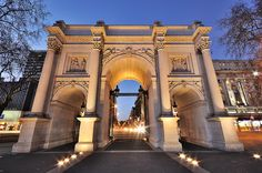 Marble Arch in London    http://arpadlukacs.com/