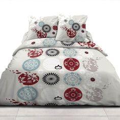 Modern Sheets, Blue Comforter, Printing On Fabric, Comforters, Blanket, Bedroom, Printed, Home, Design