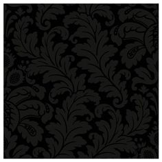 Traditional Damask Wallpaper in Black and Grey design by Candice Olson ($70) ❤ liked on Polyvore featuring home, home decor, wallpaper, backgrounds, shimmer wallpaper, grey wallpaper, black grey wallpaper, york wallcoverings and damask home decor