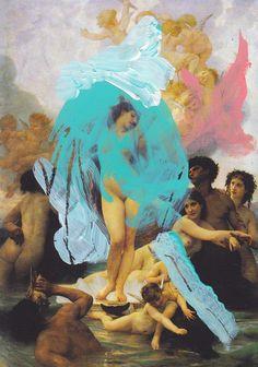 Title: The Birth of Venus (La Naissance de Vénus)  Artist: William-Adolphe Bouguereau