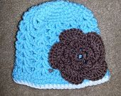 Baby Crocheted Flower Hat  $8
