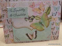 sympathy card...very pretty!