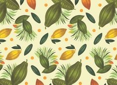 VO | Valérie Oualid : Agent d'illustrateurs | Léa Morichon | Valrhona Valrhona, Illustrations, Ornament, Wallpapers, Prints, Pattern, Food, Artist, Decoration