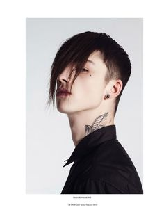 Ash Stymest photographed by Mark Rabadan and styled by Paolo Zagoreo