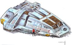 Runabout Concept Art