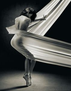 White sheet dance