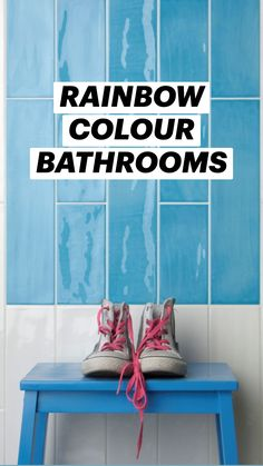 Bathroom Gadgets, Color By Numbers, Sink Design, Bathroom Trends, Luxury Decor, Bathroom Colors, Small Living Rooms, Home Decor Furniture, Rainbow Colors