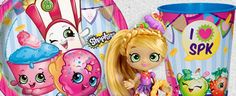 Shopkins are the hottest toys right now and quickly becoming the most popular party theme for girls. What is great about a Shopkins themed party is that there Party Themes, Party Ideas, Birthday Box, Shopkins, Princess Peach, Hottest Toys, Alice, Birthdays, Girls