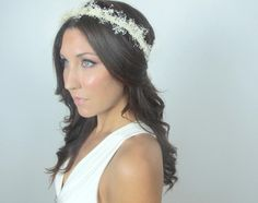 Baby's Breath Crown, Ivory