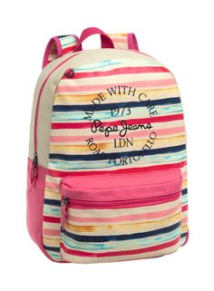 Mochila Pepe Jeans Hallia #PepeJeans #JoummaBags #backpack #SS16