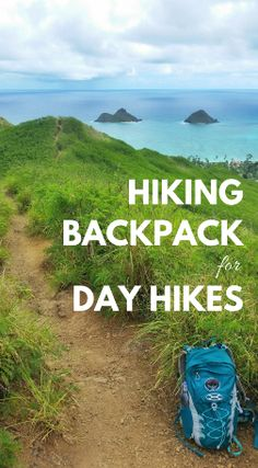 Hiking tips for beginners. You want the best backpack for hiking gear to go with your outfit whether a day hike, backpacking, or long-term travel. This hiking backpack is good for packing essentials of a hike like food, snacks, water with a hydration pack, and first aid kit. Day pack can be a good travel backpack for carry-on luggage and road trips too. This Osprey backpack has men's and women's. It's perfect for trails for summer travel plan in national parks and USA vacation destinations!