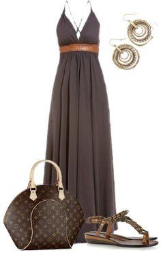 Louis Vuitton Monogram Canvas Ellipse Bags I live the dress!!!!