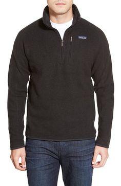 Main Image - Patagonia 'Better Sweater' Quarter Zip Pullover