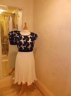 Daisy May Dress Ecru/Black 2937