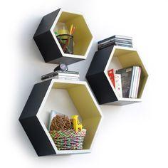 trista-classic-style-hexagon-leather-wall-shelf-bookshelf