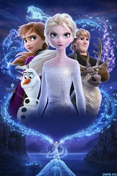 Watch Streaming Frozen II : Movies Elsa, Anna, Kristoff And Olaf Head Far Into The Forest To Learn The Truth About An Ancient Mystery Of Their. Cute Disney, Disney Art, Disney Movies, Frozen 2 Wallpaper, Wallpaper Iphone Disney, Princesa Disney Frozen, Disney Frozen Elsa, Frozen Pictures, Disney Pictures