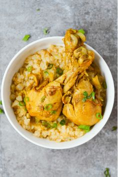 This Low Carb Jamaican Curry Chicken is a healthy meal full of Caribbean flavor! Don't forget to serve it up with some cauliflower rice!
