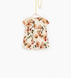 Floral dress-DRESSES AND JUMPSUITS-BABY GIRL   3 months-4 years-KIDS-SALE   ZARA United Kingdom
