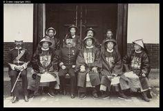 Lockhart, Barnes and Chinese officials, Tsi Nan Fu 1903
