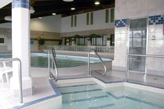 Enjoy the indoor swimming pool at the Best Western Motor Inn in Dryden, Ontario.