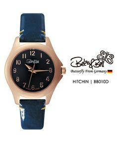 HITCHIN BB010D   | Meterail:316L Stainless Steel  | Movement: MIYOTA 2035  | Case Size: 26mm  | Band Size: 12mm  | Band: Enamel coated Genuine Leather  | Glass: Hardened Mineral Crystal  | Water Resistance : 3 ATM