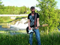 Gitarreim i lær