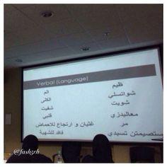 في كليات الطب  ( السعودية ) يتعلم الطلاب قاموس كبار السن من البدو في الألفاظ التي تعبر عن المرض والألم