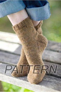 Churchmouse Basic Sock PATTERN ONLY