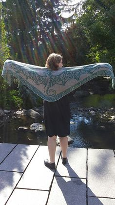 Okay, I have to move double knitting up on the to do list....  http://www.ravelry.com/patterns/library/celtic-sky-dragon