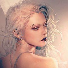 Ideas for digital art female portrait Character Portraits, Character Art, Character Ideas, Digital Art Girl, Anime Art Girl, Female Art, Female Portrait, Portrait Art, Character Inspiration