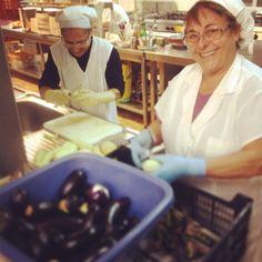 Rosetta e Bruna in lavorazione: la #Giardiniera