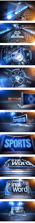 "Sports Open - ""FINAL WORD"" by Milkman Dave, via Behance"