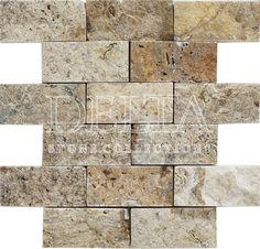 Scabas splitface mosaic 4,8x9,6 cm (DG 1184)