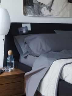 Relax tonight (in modern) and with  DWR Bedding.