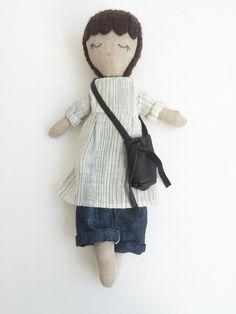 Handcrafted Irish Linen Doll