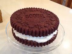 My first 'Oreo' cake!