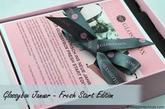 Glossbox Januar 2014 - Fresh Start Edition