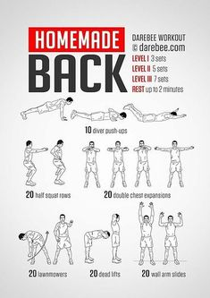 100 Workouts You Could Do At Home, NO Equipments Required Bodybuilding Training, Bodybuilding Workouts, Back Workout At Home, Back And Shoulder Workout, 100 Workout, Workout Fitness, Fitness Plan, Fitness Diet, Health Fitness