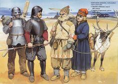 La Pintura y la Guerra. Sursumkorda in memoriam Medieval Knight, Medieval Fantasy, Military Art, Military History, Military Costumes, Landsknecht, Late Middle Ages, Renaissance Era, Viking Age
