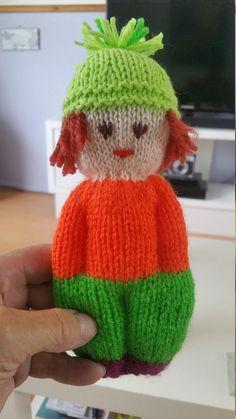knitting patterns toys New Kids set of 3 handknitted dolls Cute Crochet, Crochet Toys, Crochet Birds, Crochet Bear, Crochet Animals, Baby Knitting Patterns, Loom Knitting, Crochet Patterns, Change Colors In Crochet