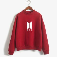 BTS Plain Emblem Sweatshirt