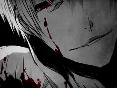Image about boy in Monochrome anime guys by ♚ 死神 ♚ Manga Anime, Sad Anime, I Love Anime, Anime Guys, Anime Art, Gin Bleach, Anime Bleach, Male Yandere, Yandere Girl