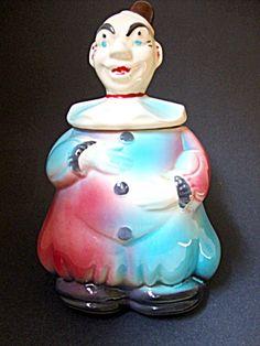 Clown Cookie Jar. $75.00